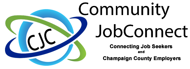 Logo Design for Community Job Connect - Champaign County Ohio