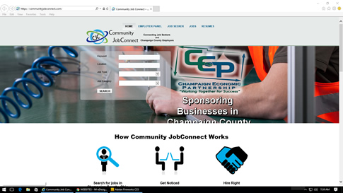 COMMUNITY JOB CONNECT CHAMPAIGN COUNTY OHIO