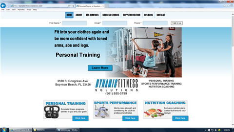 DYNAMIC FITNESS SOLUTIONS FLORIDA