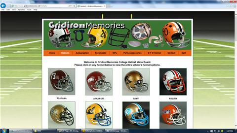 GRIDIRON MEMORIES