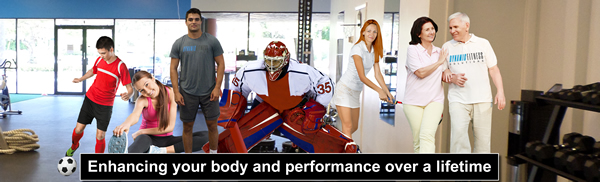 Banner created for website and gym studio window.
