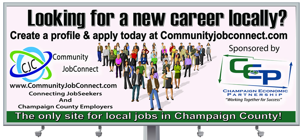 Bill Board Design for Champaign County CEP