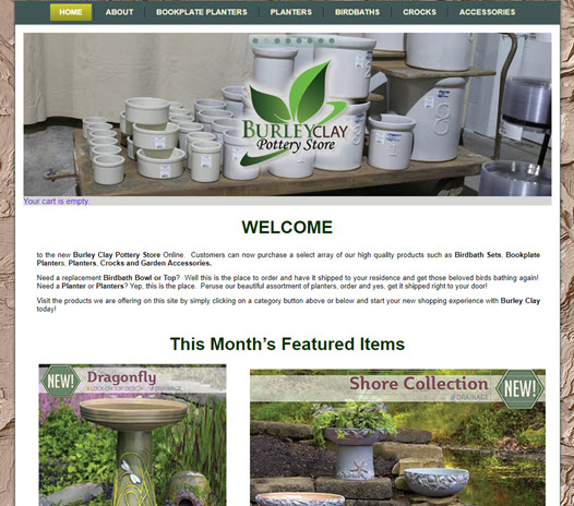 New Site - Burley Clay Store