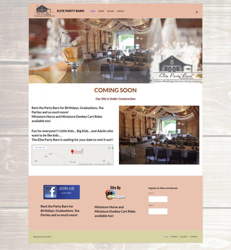 Site, Logo Design and Marketing Materials Design Marysville Ohio